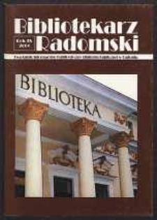 Bibliotekarz Radomski, 2001, R. 9, nr 3