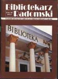 Bibliotekarz Radomski, 2003, R. 11, nr 3
