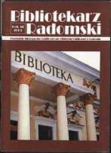 Bibliotekarz Radomski, 2003, R. 11, nr 4