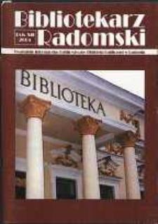Bibliotekarz Radomski, 2004, R. 12, nr 2