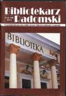 Bibliotekarz Radomski, 2004, R. 12, nr 3-4
