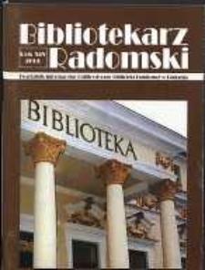 Bibliotekarz Radomski, 2006, R. 14, nr 3-4