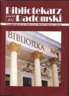 Bibliotekarz Radomski, 2007, R. 15, nr 2
