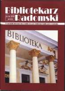 Bibliotekarz Radomski, 2008, R. 16, nr 3
