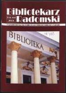 Bibliotekarz Radomski, 2008, R. 16, nr 4