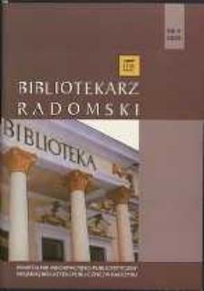Bibliotekarz Radomski, 2009, R. 17, nr 4