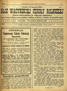 Przegląd Sejmikowy : Urzędowy Organ Sejmiku Radomskiego, 1925, R. 4, nr 45, dod.