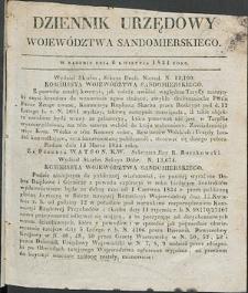 Dziennik Urzędowy Województwa Sandomierskiego, 1834, nr 15