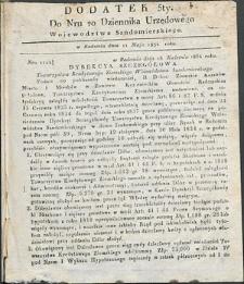 Dziennik Urzędowy Województwa Sandomierskiego, 1834, nr 20, dod. V