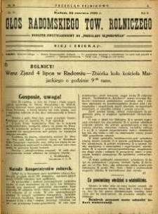 Przegląd Sejmikowy : Urzędowy Organ Sejmiku Radomskiego, 1926, R. 5, nr 24, dod.