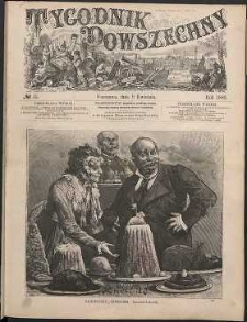 Tygodnik Powszechny, 1882, nr 15
