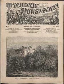 Tygodnik Powszechny, 1882, nr 17
