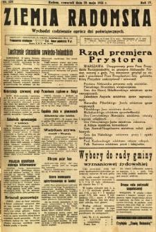 Ziemia Radomska, 1931, R. 4, nr 120