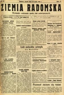 Ziemia Radomska, 1931, R. 4, nr 121