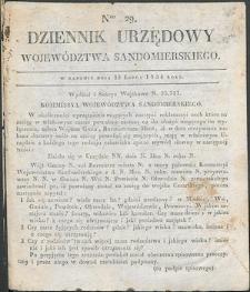 Dziennik Urzędowy Województwa Sandomierskiego, 1834, nr 29