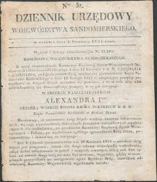 Dziennik Urzędowy Województwa Sandomierskiego, 1834, nr 32