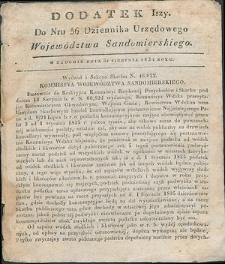 Dziennik Urzędowy Województwa Sandomierskiego, 1834, nr 36, dod. I