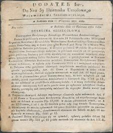 Dziennik Urzędowy Województwa Sandomierskiego, 1834, nr 39, dod. I