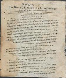 Dziennik Urzędowy Województwa Sandomierskiego, 1834, nr 44, dod.