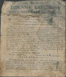 Dziennik Urzędowy Województwa Sandomierskiego, 1834, nr 52