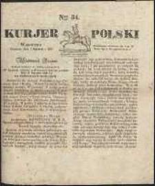 Kurjer Polski, 1830, nr 34