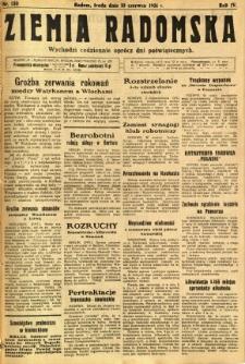 Ziemia Radomska, 1931, R. 4, nr 130