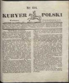 Kuryer Polski, 1831, nr 414