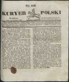 Kuryer Polski, 1831, nr 416
