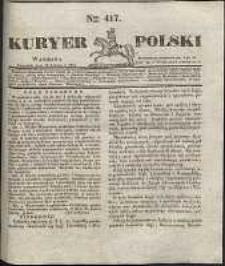 Kuryer Polski, 1831, nr 417