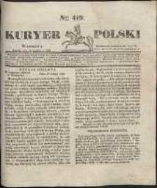 Kuryer Polski, 1831, nr 419