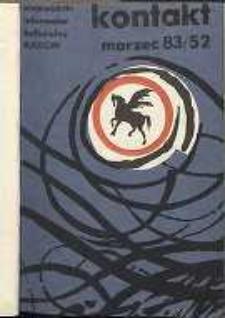 Kontakt : Wojewódzki Informator Kulturalny, 1983, nr 2