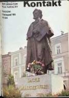 Kontakt : Wojewódzki Informator Kulturalny, 1985, nr 11