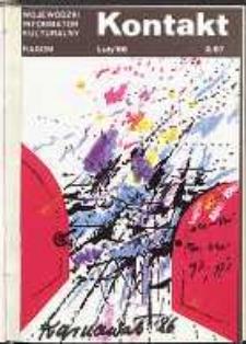 Kontakt : Wojewódzki Informator Kulturalny, 1986, nr 2