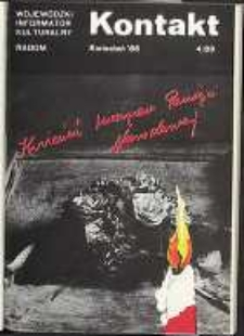 Kontakt : Wojewódzki Informator Kulturalny, 1986, nr 4