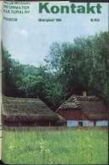 Kontakt : Wojewódzki Informator Kulturalny, 1986, nr 8