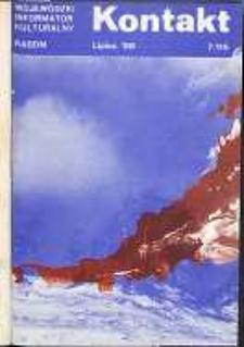 Kontakt : Wojewódzki Informator Kulturalny, 1988, nr 7