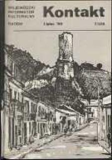 Kontakt : Wojewódzki Informator Kulturalny, 1989, nr 7
