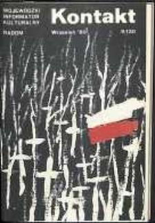 Kontakt : Wojewódzki Informator Kulturalny, 1989, nr 9
