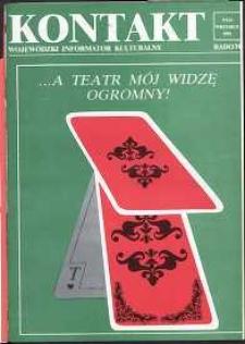 Kontakt : Wojewódzki Informator Kulturalny, 1991, nr 9