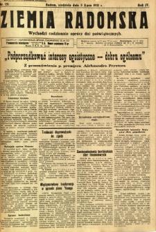 Ziemia Radomska, 1931, R. 4, nr 151