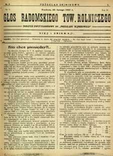 Przegląd Sejmikowy : Urzędowy Organ Sejmiku Radomskiego, 1927, R. 6, nr 6, dod.