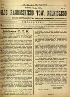 Przegląd Sejmikowy : Urzędowy Organ Sejmiku Radomskiego, 1927, R. 6, nr 17, dod.