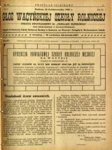 Przegląd Sejmikowy : Urzędowy Organ Sejmiku Radomskiego, 1927, R. 6, nr 40, dod.
