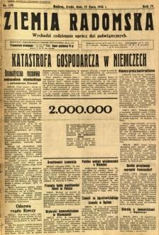 Ziemia Radomska, 1931, R. 4, nr 159