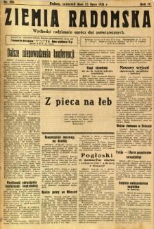 Ziemia Radomska, 1931, R. 4, nr 166