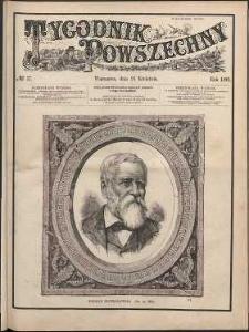 Tygodnik Powszechny, 1881, nr 17