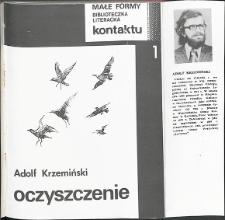 Kontakt : Wojewódzki Informator Kulturalny, 1984, nr 11, dod. Małe Formy, nr 1