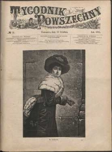 Tygodnik Powszechny, 1881, nr 51