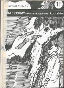Kontakt : Wojewódzki Informator Kulturalny, 1987, nr 6, dod. Małe Formy nr 11