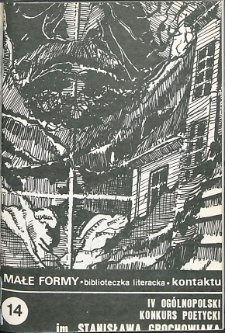 Kontakt : Wojewódzki Informator Kulturalny, 1988, nr 2, dod. Małe Formy nr 14